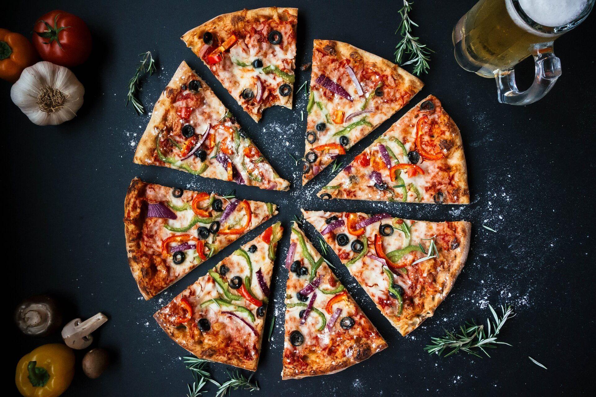 pizza sin gluten casera